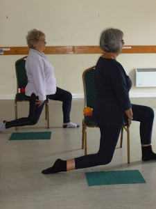 Chair and Stading Pilates